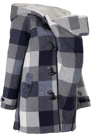 bonprix Woll-Umstandsjacke mit Teddyfutter / Tragejacke