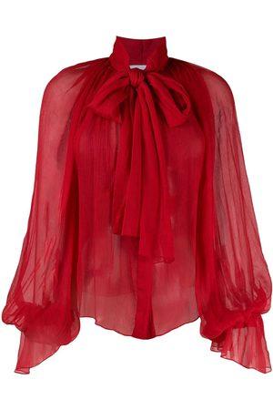 Atu Body Couture Bluse mit Ballonärmeln