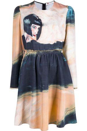 PORTS 1961 Kleid mit grafischem Print