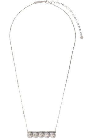 Tasaki 18kt 'Balance Signature' Weißgoldhalskette mit Perlen und Diamanten
