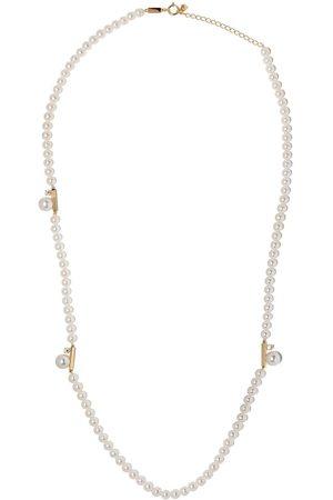 Tasaki 18kt Gelbgoldhalskette mit Perlen und Diamanten