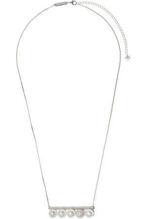 Tasaki 18kt Weißgoldhalskette mit Perlen und Diamanten