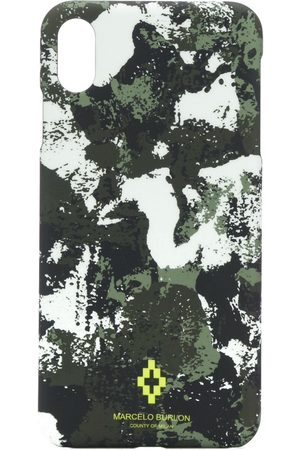 Marcelo Burlon County of Milan IPhone XS-Hülle mit Camouflage-Print