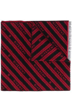 Givenchy Schal mit Logo-Streifen
