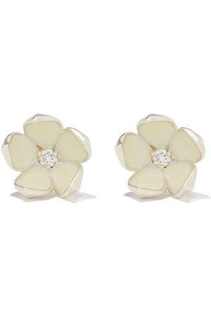 SHAUN LEANE Cherry Blossom' Ohrringe mit Diamanten