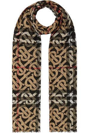 Burberry Schals - Karierter Schal mit Monogramm