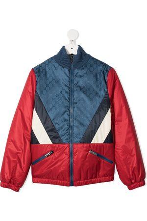Gucci Jungen Regenjacken - Jacke mit Kontrasteinsätzen