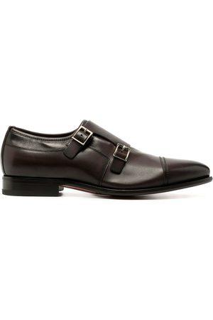 Santoni Monk-Schuhe mit zwei Riemen