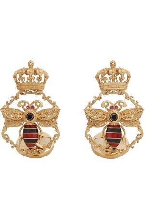 Dolce & Gabbana Manschettenknöpfe mit Biene und Krone