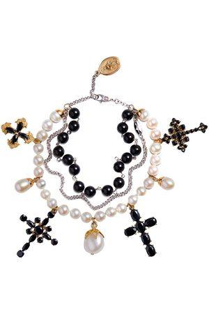 Dolce & Gabbana Armband mit Perlen