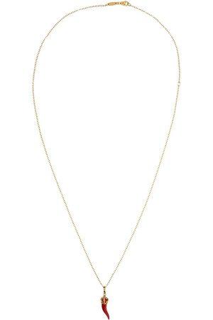 Dolce & Gabbana 18kt 'Good Luck' Gelbgoldhalskette