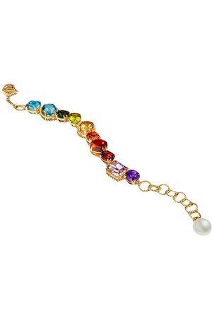 Dolce & Gabbana 18kt 'Rainbow' Gelbgoldarmband