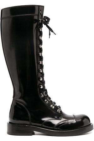 Dolce & Gabbana Kniehohe Military-Stiefel