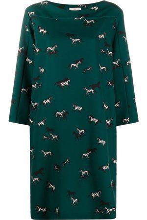 ALTEA Damen Freizeitkleider - Midikleid mit Print