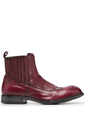 Moma Chelsea-Boots im Used-Look
