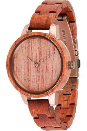 LAIMER Damen Uhren - Quarzuhr Edna, /bronze