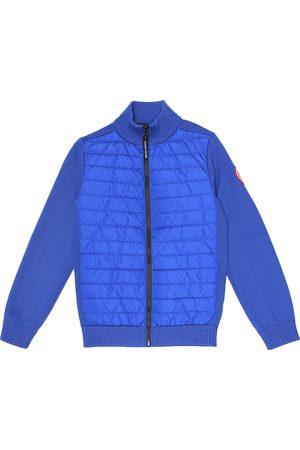 Canada Goose Jacke Hybridge aus Wolle und Shell