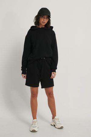 NA-KD Organisch Kurze Hose Mit Spitze - Black