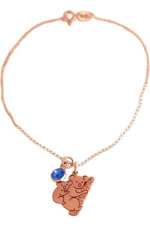 Gemshine Charm-Armband »KOALA Mama und Baby Bär SAPHIR«, Made in Spain