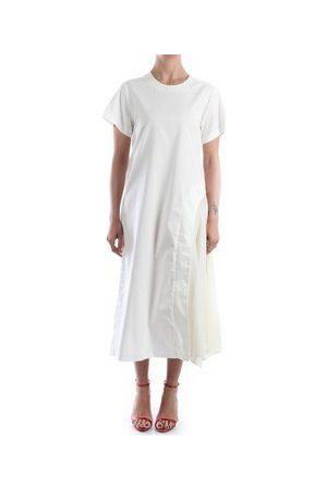 ROSE' A POIS Damen Maxikleider - Maxikleider FLOREA Kleid Damen