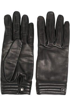 CHANEL Damen Handschuhe - Handschuhe aus Leder