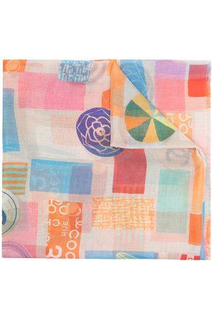 CHANEL Damen Schals - Schal mit geometrischem Print