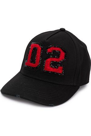 Dsquared2 Damen Hüte - Baseballkappe mit Logo-Patch