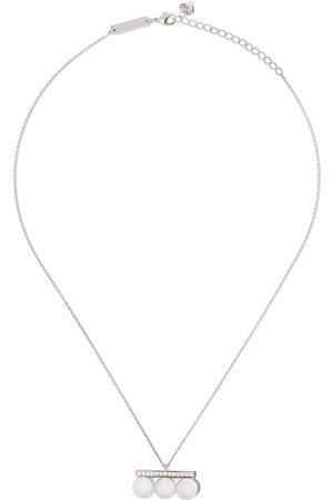 Tasaki 18kt 'Balance Neo' Weißgoldhalskette mit Diamanten