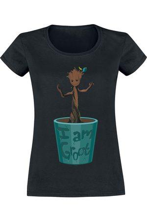 Guardians of the Galaxy Damen T-Shirts, Polos & Longsleeves - Groot Flower Pot T-Shirt