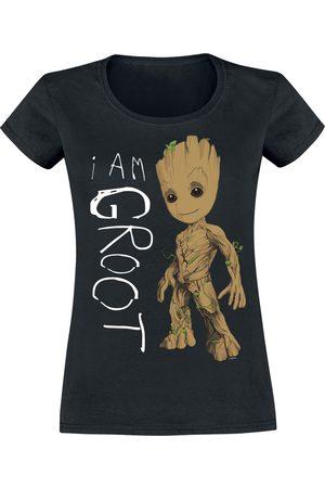 Guardians of the Galaxy Damen T-Shirts, Polos & Longsleeves - I Am Groot T-Shirt