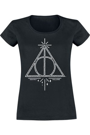 Harry Potter Damen T-Shirts, Polos & Longsleeves - Deathly Hallows T-Shirt