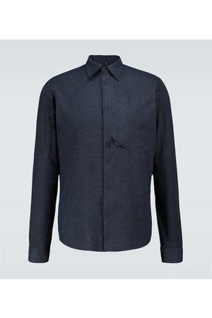 Sease Hemd aus einem Baumwollgemisch
