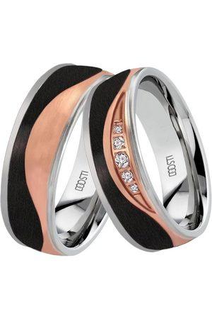 DOOSTI Uhren - Trauring »WEVE, SC-07-D, SC-07-H«, wahlweise mit oder ohne Zirkonia