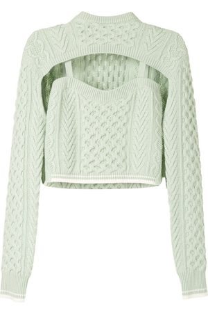 Rosie Assoulin Pullover mit Cut-Outs