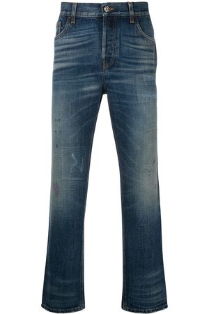 Gucci Herren Cropped - Cropped-Jeans