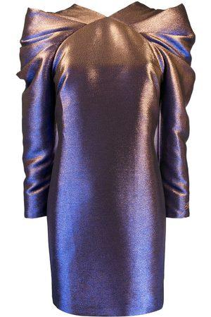 Karl Lagerfeld Damen Cocktailkleider - Kleid mit Falten