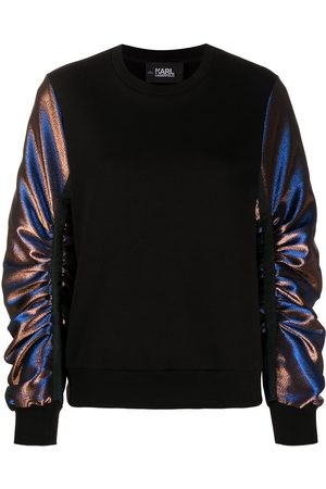 Karl Lagerfeld Sweatshirt aus Lurex