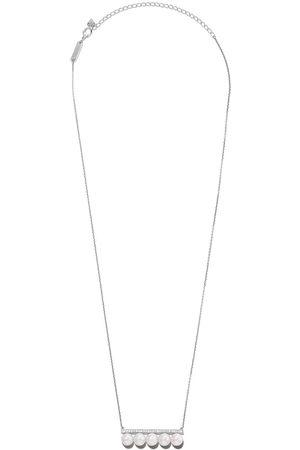 Tasaki 18kt 'Balance' Weißgoldhalskette mit Diamanten