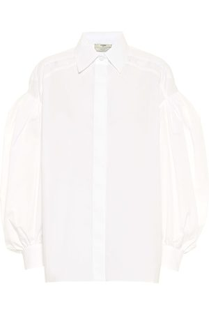 Fendi Bluse aus Baumwolle