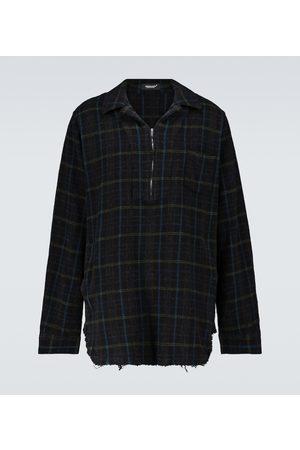 UNDERCOVER Karierte Hemdjacke aus Wolle