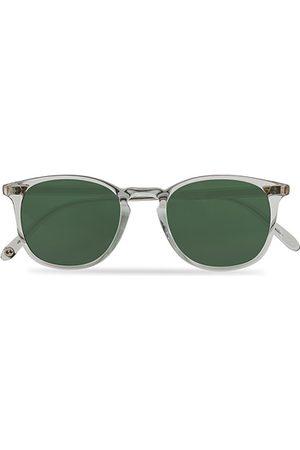 GARRETT LEIGHT Herren Sonnenbrillen - Kinney 49 Sunglasses Transparent/Green