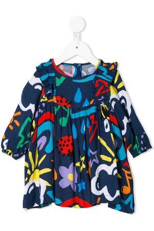 Stella McCartney Kids Mädchen Freizeitkleider - Gerüschtes Kleid mit Print