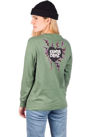 Santa Cruz Electro Heart Long Sleeve T-Shirt