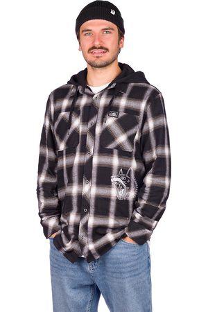 Lurking Class Herren Freizeit - K-9 Hooded Flannel Shirt