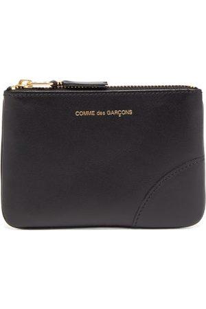 Comme des Garçons Wallet Zipped Leather Coin Purse