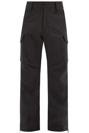 Moncler Patch-pocket Technical-shell Ski Trousers