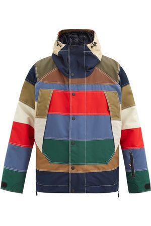 Moncler Grenoble Chetoz Striped Down Jacket