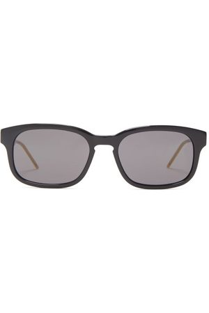 Gucci Rectangular Acetate Sunglasses