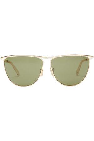 Céline D-frame Metal Sunglasses