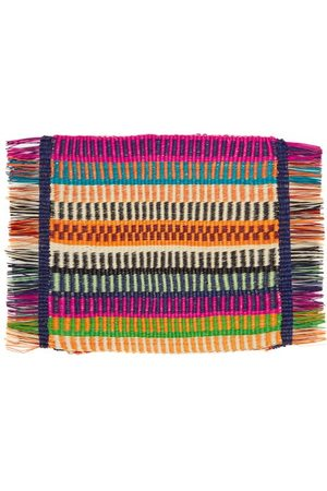 SENSI STUDIO Set Of Two Fringed Placemats